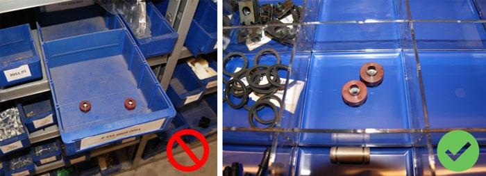 Exempel på befintliga lådor vs. sumobox
