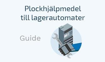 Guide rörande plockhjälpmedel för lagerautomater